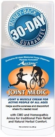 Joint Medic Pain Relief Joint & Muscle Skin Cream New Jersey USA